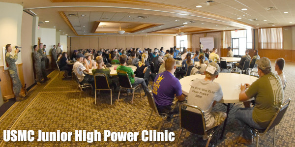 CMP Junior high power highpower clinic Camp Perry