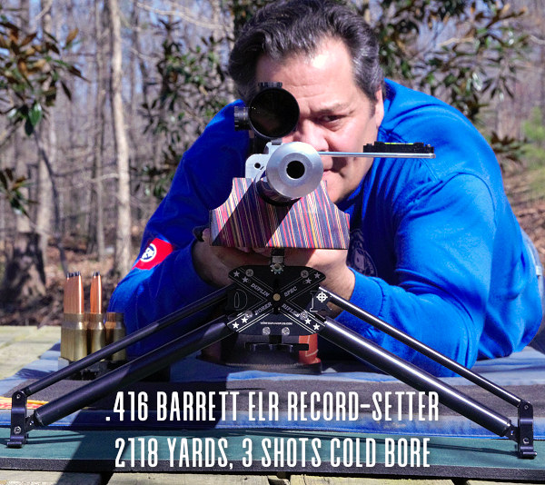 ELR Central Extreme Long Range Record Cold Bore Corbin Shell Georgia Krieger BAT Dixie Gunworks Sightron