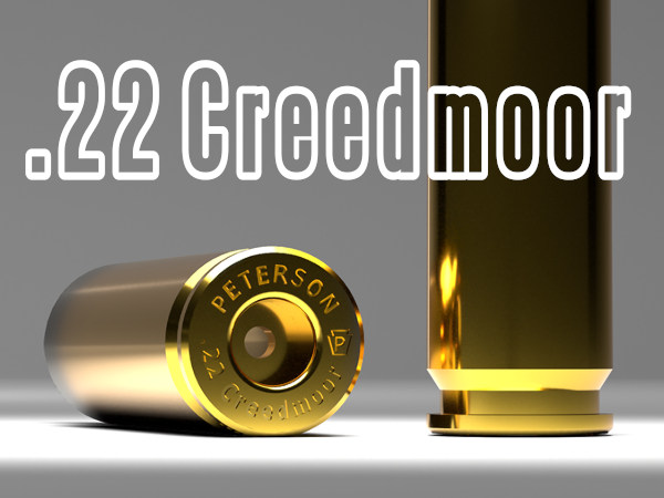Peterson Cartridge Company 22 .22 Creedmoor wildcat cartridge load data recipe powder