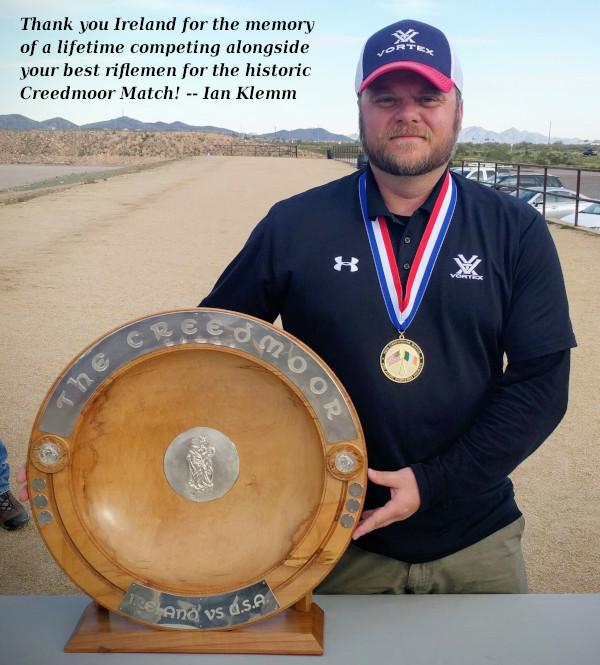 Arizona Ireland USA American Creedmoor Challenge Cup rifle competition