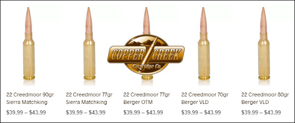 GunsAmerica Digest 22 Creedmoor