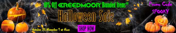 Creedmoor Sports Halloween 2021 spooky sale