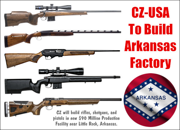 CZ-USA Little Rock Arkansas Port factory gun firearms production