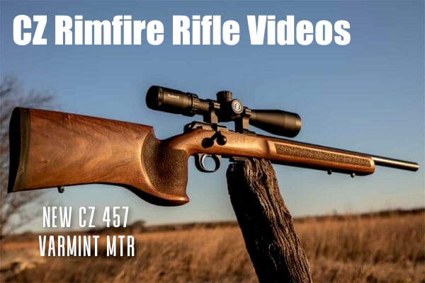 CZ model 512 .22 LR  Winchester magnum rimfire varminter.com video 457 MTR Varmint
