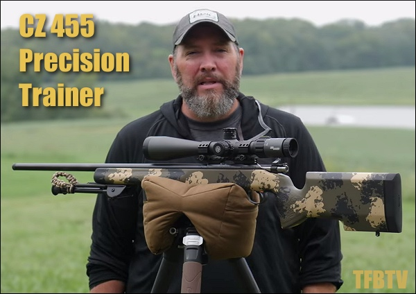 CZ  455 rimfire precision PRS trainer .22 LR smallbore video TFBTV manners stock