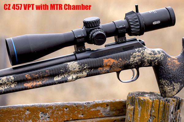 CZ VPT varmint precision trainer MTR match chamber NRL22