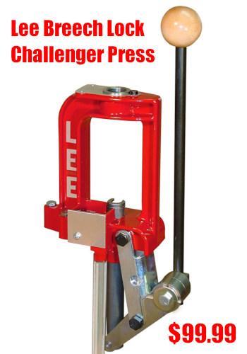 Lee breech lock challenger press
