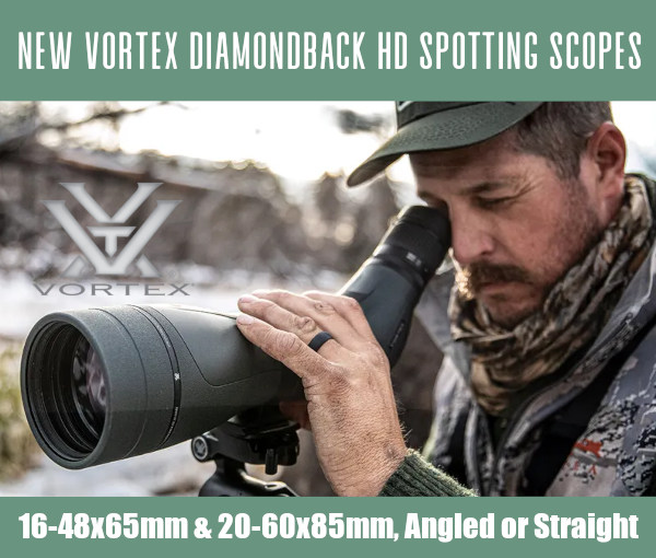 Vortex diamonback spotter spotting scope HD