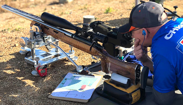David Christian F-Class F-Open .284 Win winchester competition match rifle John Masek Borden action Brux Barrel