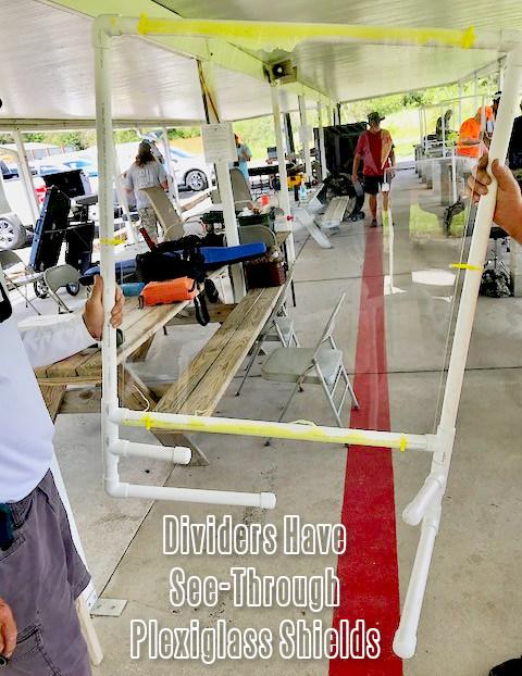 Manatee Gun club covid-19 pandemic virus social distancing benchrest shield divider plexiglass PVC