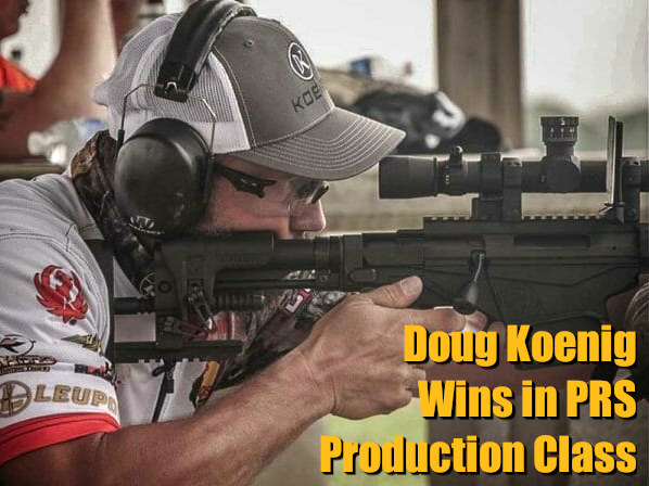 Doug Koenig PRS practical rifle competition Ruger Precision Rifle RPR production division class