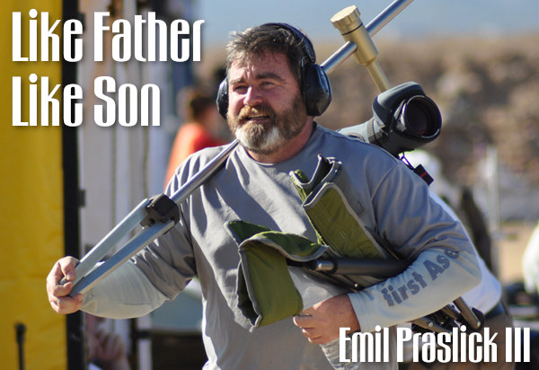 father son emil praslick iii iv 3 4 f-tr .223 rem factory ammo x-count USAMU