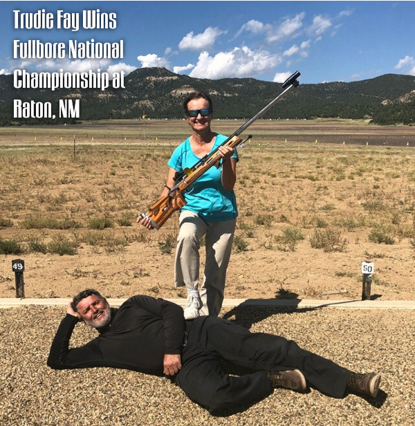 Trudie Faye Spirit of America Fullbore Target Rifle Palma gun