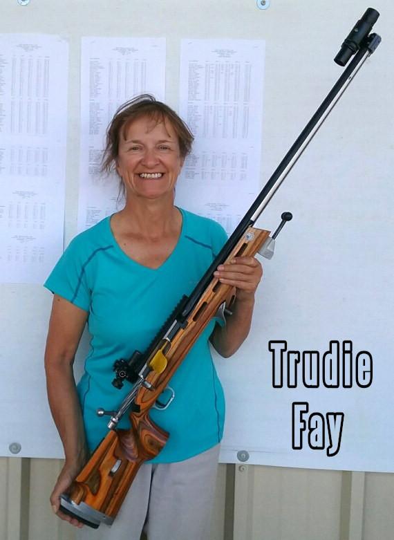 Trudie Fay Spirit of America Fullbore Target Rifle Palma gun