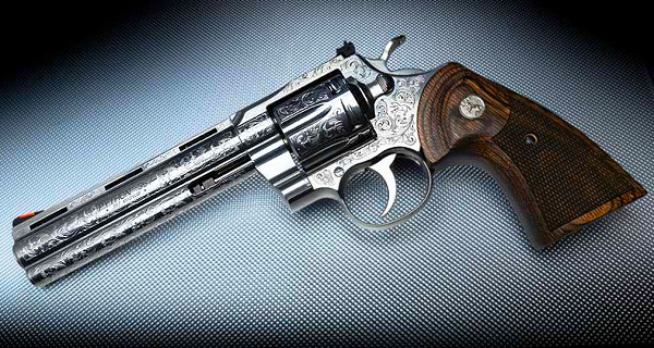 Colt Davidson Engraved .357 Magnum