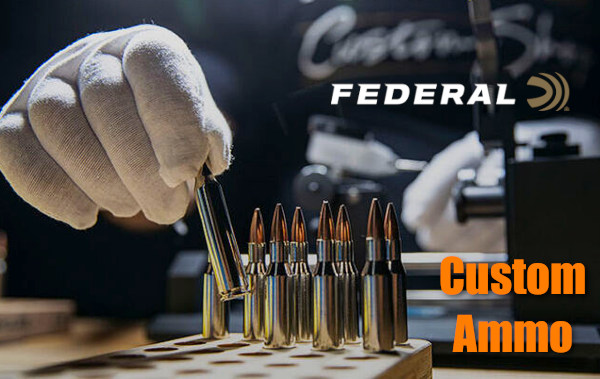 Federal custom handloading center hand-loaded rifle shotshell ammo ammunition Berger Sierra Nosler
