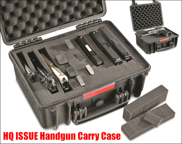 HQ Handgun carry case