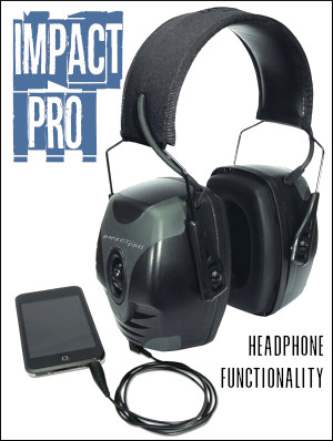 Howard Leight Impact Pro Electronic Muffs NRR 30