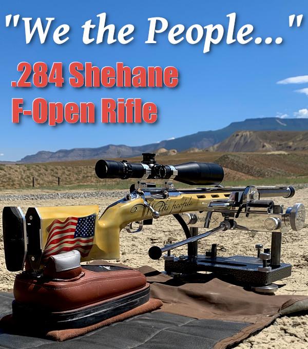 .284 Winchester Shehane F-Open F-Class 7mm Berger Panda F-Class Blake Machine