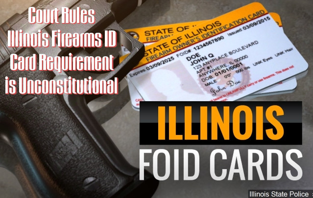 Illinois firearms identification card unconstitutional second amendment