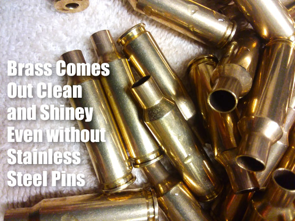 Cartridge brass case tumbler thumblers Frankford Arsenal wet brass stainless media lapua cleaning