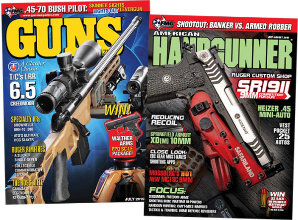 FMG publications Guns American Handgunner magazine free download 6.5 Creedmoor Pistol Rifle