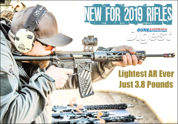 GunsAmerica Shot Shot 2019 video digest reports new rifles AR Seekins Ruger light weight