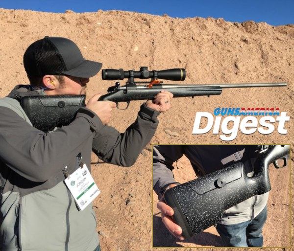 Browning X-Bolt Max Long Range Rifle Shot Show