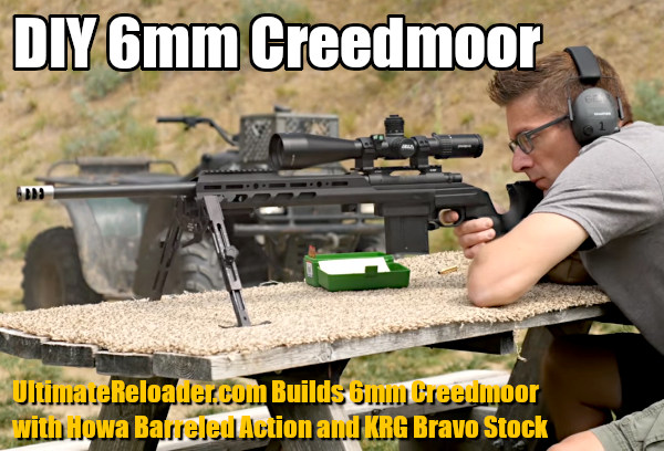 Gavin Gear 6mm Creedmoor Howa 1500 KRG Bravo chassis stock