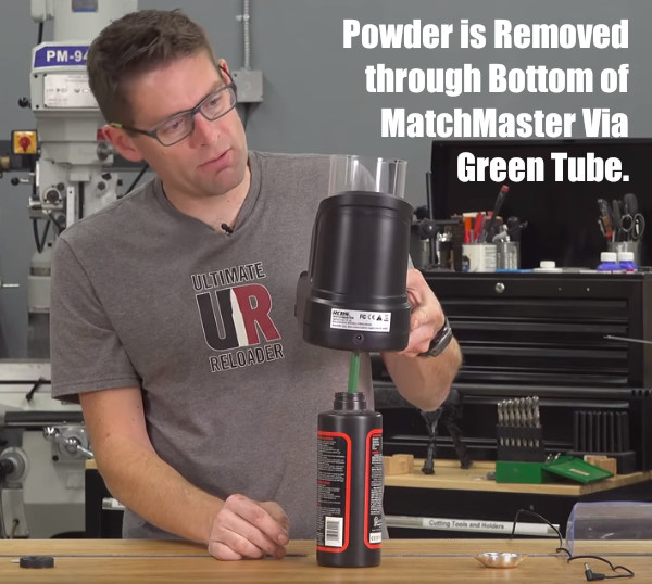 Gavin Gear Ulimate Reloader MatchMaster RCBS Powder Scale Dispenser