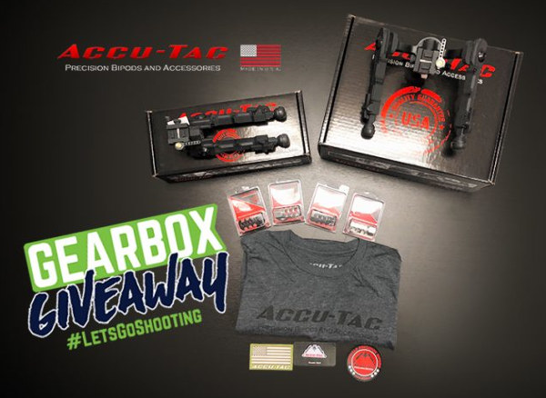 Accutac bipod rifle rest Gearbox Giveaway contest August