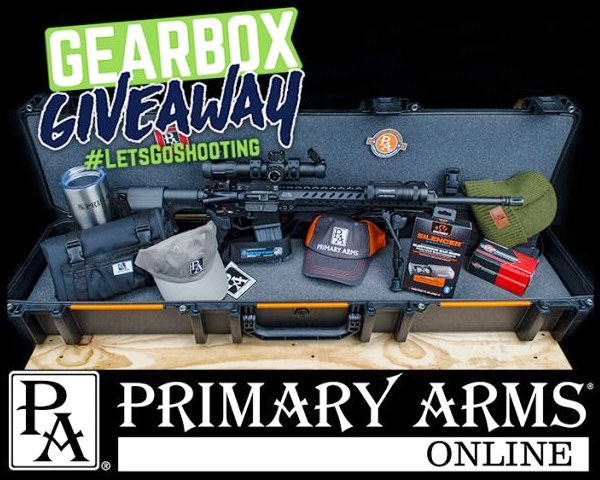 Primary Arms Rifle Gearbox Giveaway Contest August