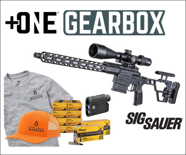 Gearbox Giveaway Contest August NSSF SIG Sauer