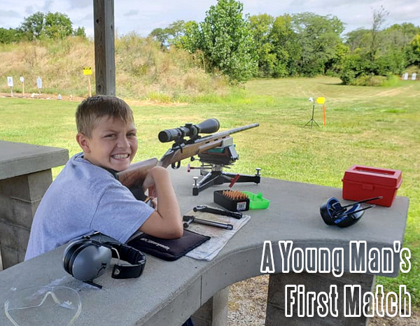 father son grandfather young boy benchrest 6mmBR Cooper Montana varminter