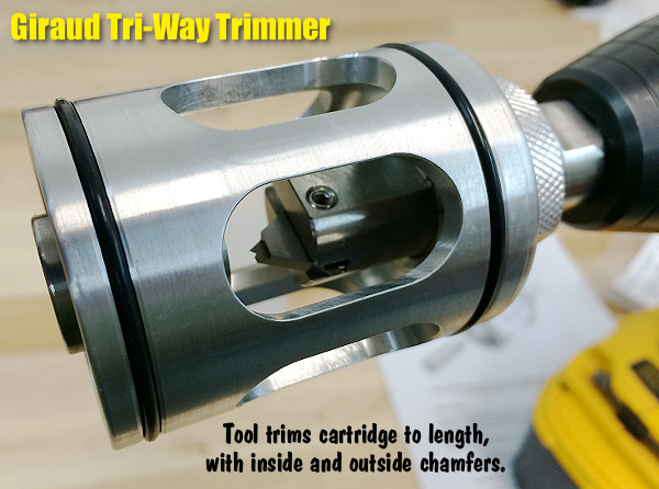 Giraud Tri Way Trimmer Case Cutter tool