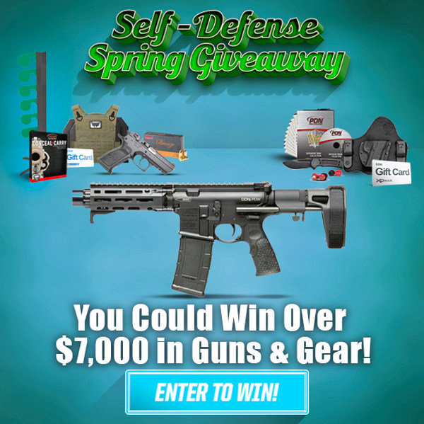 Giveaway contest defense AR15 free ammo self-defense spring