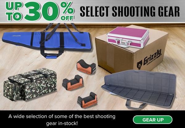 Grizzly bullets.com sale discount gun case rest tops rifle