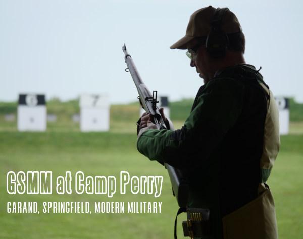 Petrarca Range Camp Perry GSMM electronic target
