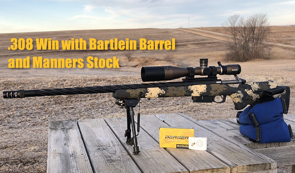 .308 Win Rifle Manners Stock