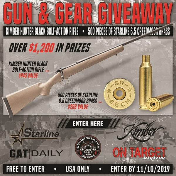 gun giveaway contest free guns emails capture ammo prizes