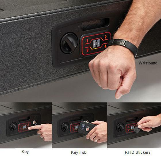 AR gunlocker RAPID Safe gun vault instant access