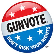 gunvote icon logo 2020 election
