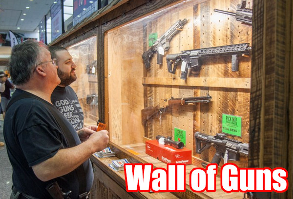 NRA Conventional Houton Texas 2021 Wall guns giveaway ticket