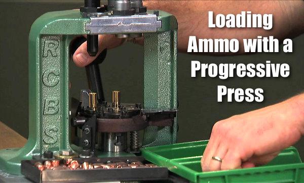 USAMU Progressive Press auto  self-advancing