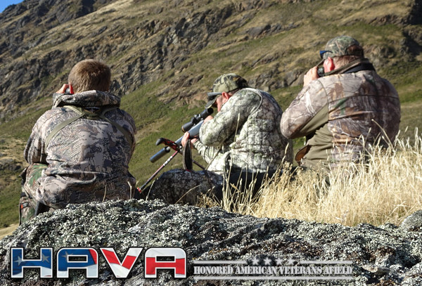 HAVA honored american veterans afield hunting shooting wounded warrior program
