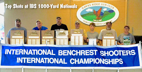 IBS 1000-Yard National Championship Hawks Hawk's Ridge North Carolina NC 1K Heavy Gun Light HG LG Score Benchrest
