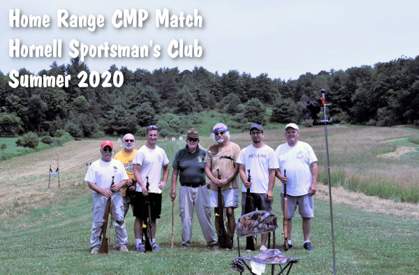 CMP Home Range Appreciation shooting match high power smallbore pistol 2020