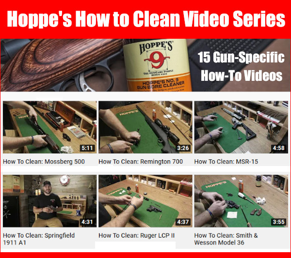 Hoppe's gun cleaning how to videos youtube #9