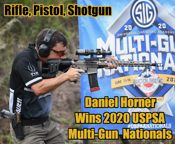 Daniel Horner USPSA Florida multi-gun nationals