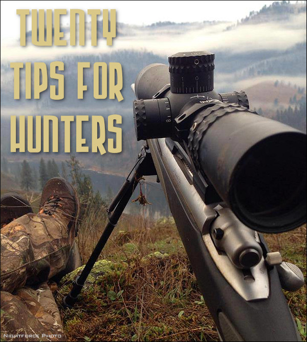 hunting safety annual day top 20 tips